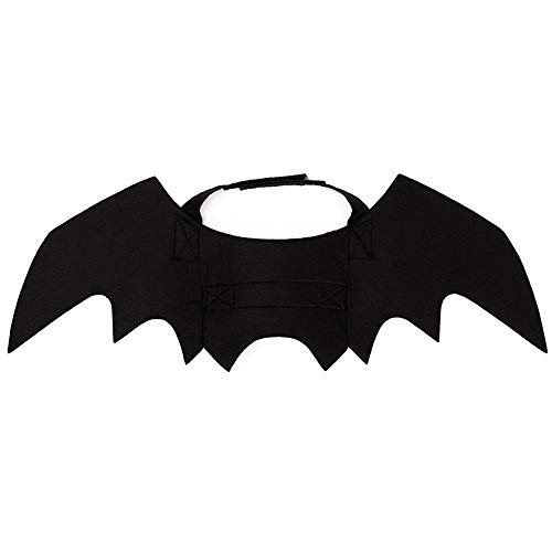 ZOOPOLR Bat-Cats Costume for Cats, Bat Wing Party Pet Dress Up Halloween Costume Halloween Atmosphere for Cats