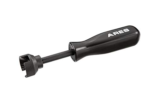 ARES 70191 | Brake Spring Compressor Tool | Provides Leverage to Remove and Install Stubborn Hold-Down Springs of Drum Brakes