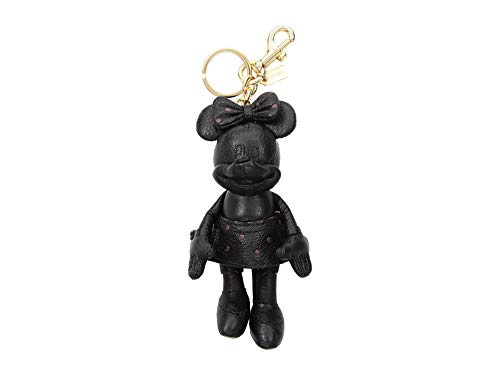 COACH Women's Minnie Mouse Doll Bag Charm Disney x COACH Li/Black One Size