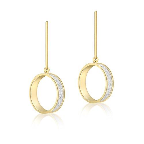 Carissima Gold - Boucles d'oreilles pendantes - Or jaune 9 cts - 1.54.3969