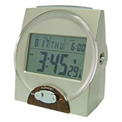 LS&S Talking Radio Controlled (Atomic) Clock