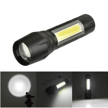 1517 XPE+COB 1000Lumens 4Modes 2Lights Brightness Tactical LED