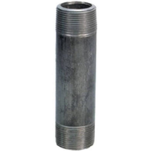 Schedule 40 Steel Pipe - Anvil 8700138954, Steel Pipe Fitting, Nipple, 1/2