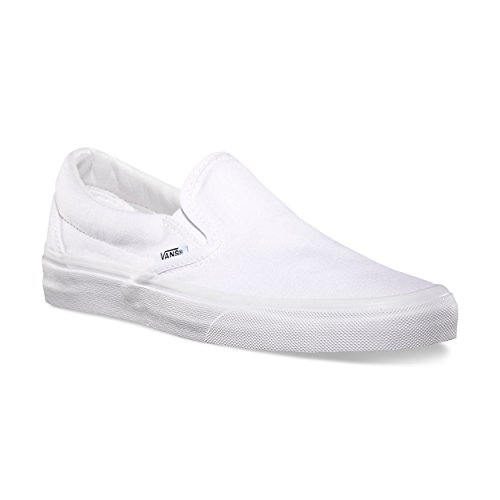 Vans Classic Slip-On Checkerboard, Sneaker Unisex – Adulto True White