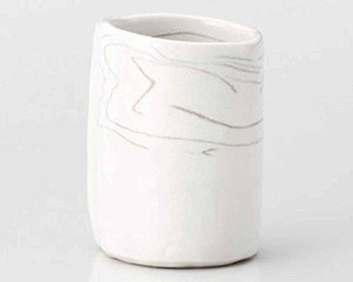 Oribe Naruto 2.6inch Set of 2 Japanese Tea Cups White porcelain Made in Japan Watou.asia