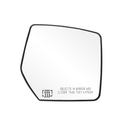 Fit System 30264 Dodge/Jeep Right Side Heated Power Replacement Mirror Glass with Backing Plate