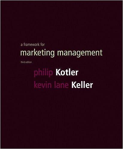 3rd Edition Framework for Marketing Management