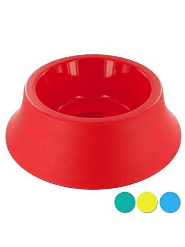 Kole KI-DI436 Round Plastic Pet Bowl, Large