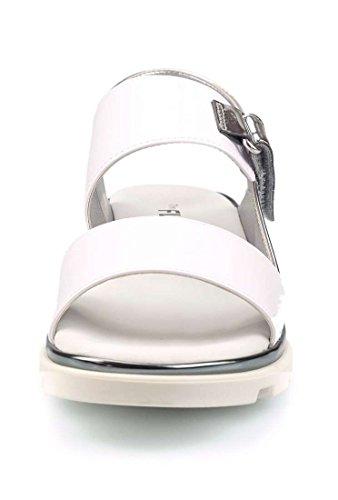Sandalo E FLEXX The Jinny Bianco Donna Argento Ea1nwq