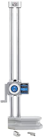 "Mitutoyo 192-151 Dial Height Gauge, 0-18"" Range, 0.001"" Resolution, +/-0.002"" Accuracy, 9.2kg Mass"