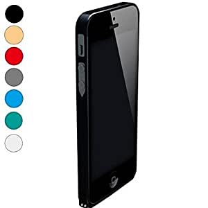 HP Cross-line Ultra-thin Aluminum Metal Bumper Case Cover Cleave for Apple iPhone 5