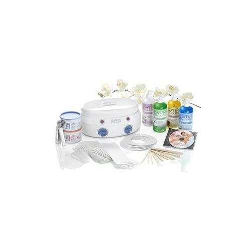 Satin Smooth Ssw08ckit Double Wax Warmer Kit 4 Protective (Satin SmoothSSW08CKIT ) by Satin Smooth