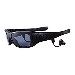 Sports Sunglasses Men Black Sports Sunglasses - SM21 Plus 1080P Camera Video Bluetooth MP3 Outdoor Sports Sunglasses ( Outdoor Sports Sunglasses)