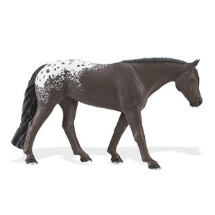 Circle Horse - Safari Ltd  Winner's Circle Horses: Appaloosa Mare