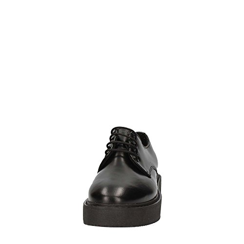 Lace Femme Shoes up Frau 37P1 Noir xqSzAfApw