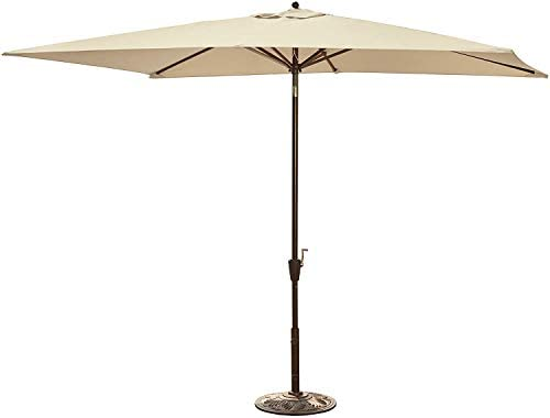 Adriatic 6.5-ft x 10-ft Rectangular Market Umbrella