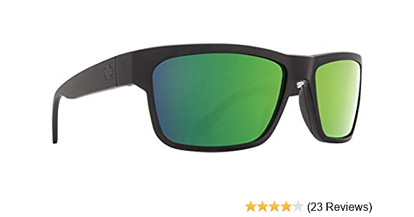 8c2cf14f2b Spy Optic Frazier Happy Lens Wrap Sunglasses (Spy + Real Tree Happy Bronze  Polar w Green Spectra)