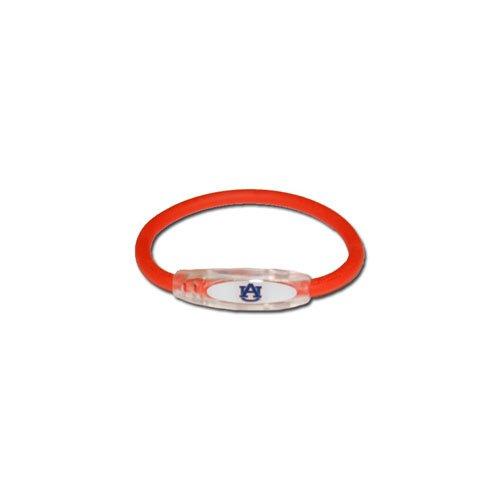 (NCAA Auburn Tigers Active Wristband, Orange, Small)