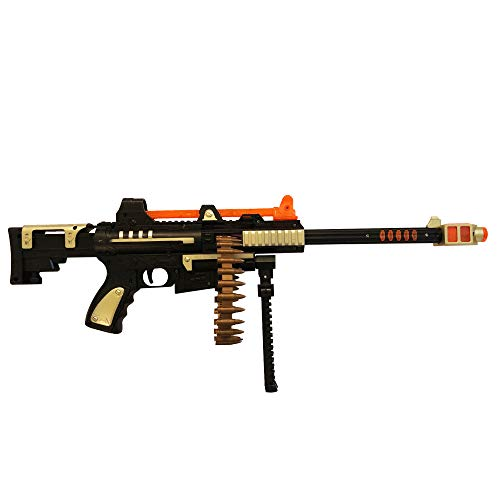 LilPals' 23 Inch Superior Performance Shooter Toy Machine Gun - Rifle Features Dazzling Electric Light, Amazing Electronic Sound & Unique Action