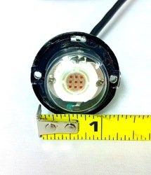 10 Watt LED white strobe light with 14 flash patterns