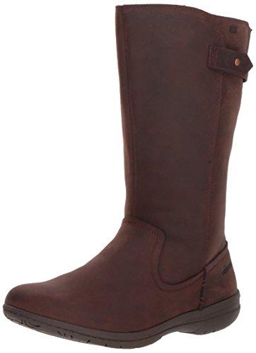 Merrell Women's Encore Kassie Tall Waterproof Fashion Boot, Brunette, 9.5 M US (Cheap Fashion Boots)
