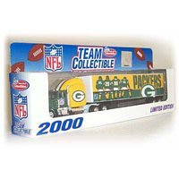 Green Bay Packers 2000 NFL Limited Edition Die-Cast 1:80 Tractor-Trailer Semi Truck Collectible ()