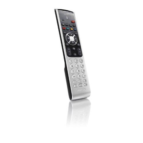 Philips SRU 5110 Universal-Fernbedienung (LED Anzeige) für TV schwarz/silber