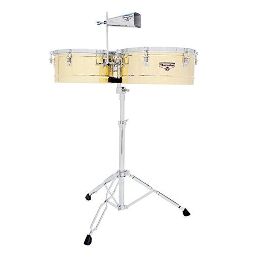 Latin Percussion M257B Timbal Brass / Chrome by Latin Percussion