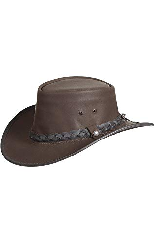 Overland Sheepskin Co Traveler Crushable Leather Outback ()
