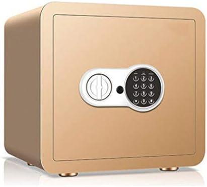 パーツボックス 安全なパスワードのロックを解除デザイン金庫ホテルのプライベートストレージボックスホームパスワード内閣コートキャビネットベッドルーム化粧品 (Color : B, Size : 38*30*35cm)