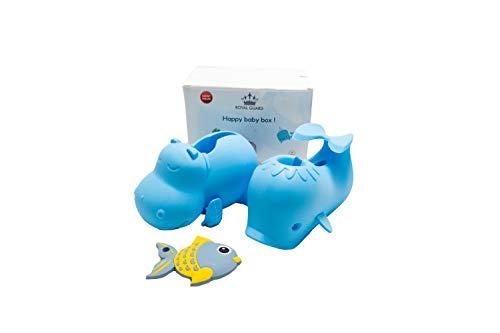 ROYAL GUARD Moby Friends Spout Cover Value Pack, Bathtub Faucet Protector, Fish...