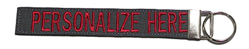 (Northern Safari Custom Name Tape Material Luggage and Crate Tags Over 50 Fabrics! Made in The USA, Charcoal Gray, 6