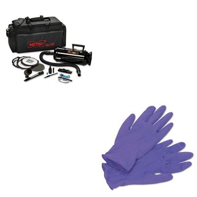 KITKIM55082MEVDV3ESD1 - Value Kit - Datavac ESD-Safe Pro 3 Professional Cleaning System (MEVDV3ESD1) and KIMBERLY CLARK PURPLE NITRILE Exam Gloves (KIM55082) - Data Vac Pro Cleaning Kit