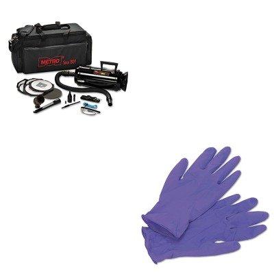 Data Vac Pro Cleaning Kit (KITKIM55082MEVDV3ESD1 - Value Kit - Datavac ESD-Safe Pro 3 Professional Cleaning System (MEVDV3ESD1) and KIMBERLY CLARK PURPLE NITRILE Exam Gloves (KIM55082))
