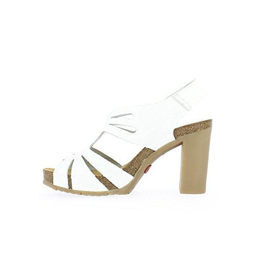 Yokono Blanc Malibu Femme Sandales 003 Blanco Plateforme Vaquetilla wqnFxpvwgZ