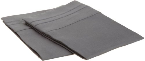 Clara Clark Collection Pillowcases Charcoal