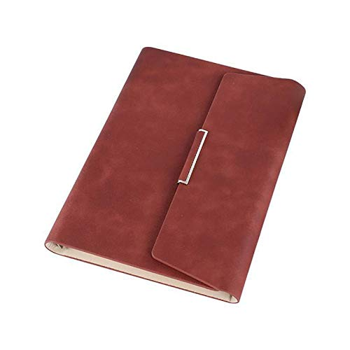 Notebooks & Writing Pads A5 Three Fold Loose-Leaf Notebook Touched Comfortably, Sturdy Hard Cover Protects Your Art for Years by Chillin Store