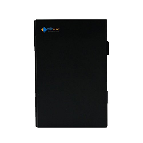 206# 2017 Promotion New Ps Vita 4 In 1 Aluminum Storage Box Bag Memory Card Case Holder Wallet (Black)