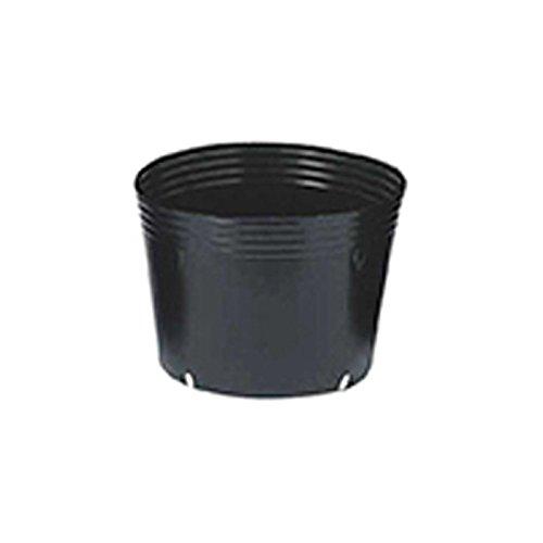 【500個】 30.0cm 黒 TO浅鉢安定型ポット(UAタイプ) ポリポット 東海化成 タ種 代不 B06Y5J8YHK