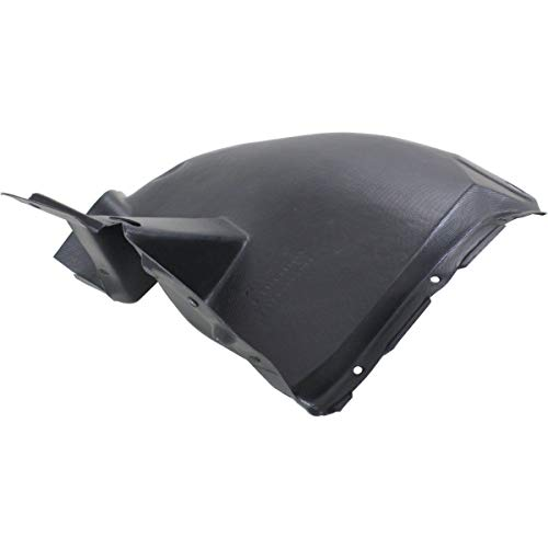 New Front Left Driver Side Inner Fender For 2003-2007 Cadillac CTS Extension Bumper Fascia, Made Of Plastic GM1248230