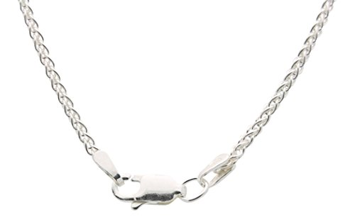 Diamond Heart Cross Necklace for Women - 925 Sterling Silver by All Patron Saints (Image #3)