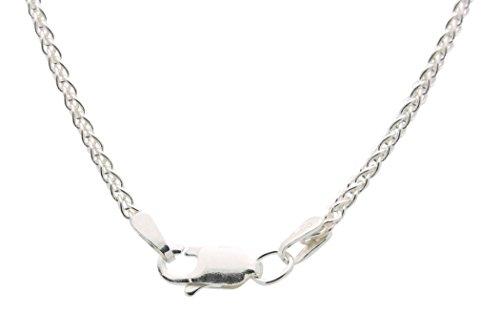 Heart Shaped Diamond Cross Necklace For Women – 925 Sterling Silver Cross Necklace For Women