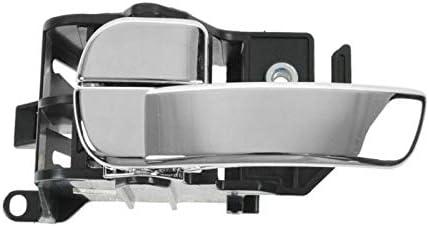 Gray /& Chrome Interior Inner Door Handle Pair Set for Frontier Pathfinder Xterra