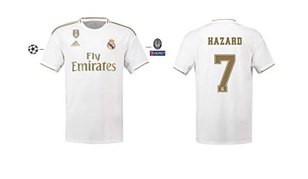 Real Madrid 2019-2020 - Camiseta para Hombre, diseño: Amazon.es ...