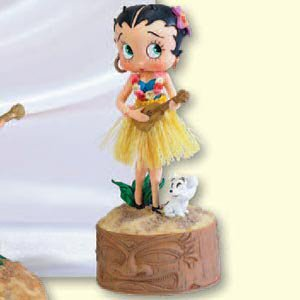 Vanmark Betty Boop Island Serenade Musical Figurine