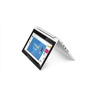Lenovo Chromebook C330 2-in-1 Convertible Laptop, 11.6-Inch HD (1366 x 768) IPS Display, MediaTek MT8173C Processor, 4GB LPDDR3, 64 GB eMMC, Chrome OS, 81HY0000US, Blizzard White (Renewed)