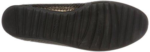 Gabor Women's Comfort Sport Closed Toe Ballet Flats, Grey Multicolour (95 Bronce 95)