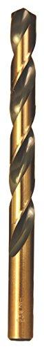 64 135 Degree Drill Bit - Viking Drill and Tool 5630 0 Type 240-UB 135 Degree Split Point Magnum Super Premium Jobber Drill Bit (12 Pack), 9/64