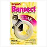 Bansect Flea and Tick Collar Cats, My Pet Supplies