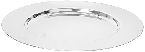 Elegance Silver 8252/4 Silver Plated Charger Plate, 11-3/4